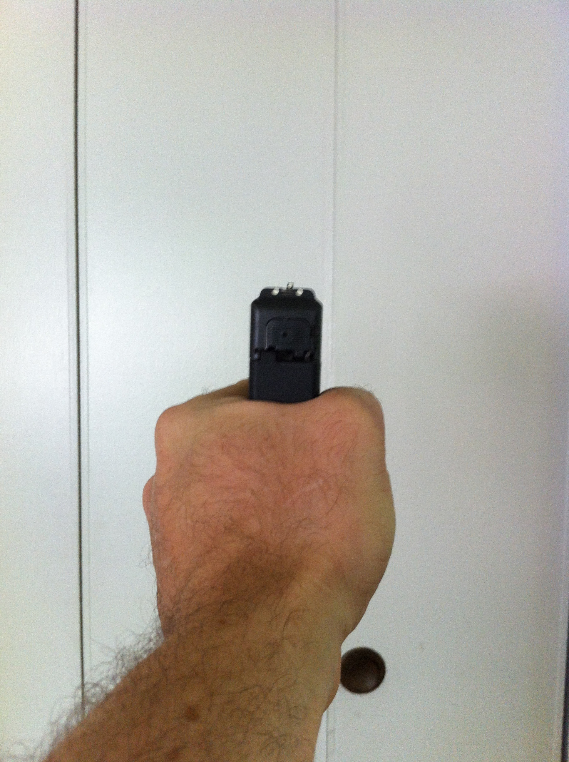 The Nano grip from the rear